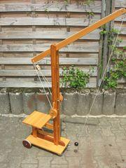 Holz Kran für Kinder