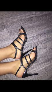 Sandaletten Sandalen Pumps High Heels