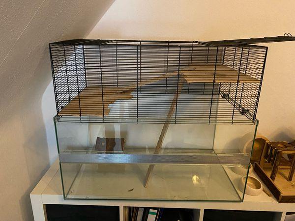 XXL Nagerkäfig -Kleintiergehege - Hamster Mäusekäfig