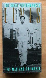 VHS Elvis Presley the great