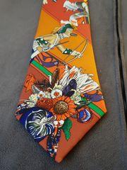 Hermes Krawatte ungetragen