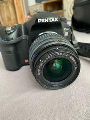 Spiegelreflexkamera Pentax K10D inkl Objektiv