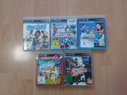 5-PS3 Move Spiele