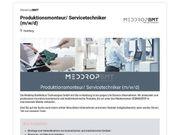 Produktionsmonteur Servicetechniker m w d