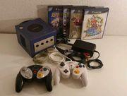 GameCube mit Zubehör