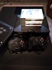 Xbox Classic mit Modchip und