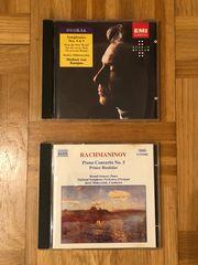 Rachmaninov Dvorak Karajan CDs
