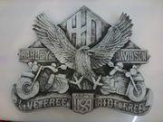 Verkaufe Harley Davidson Dekor Schild