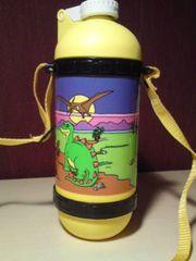 Trinkflasche mit Dinomotiv - NEU