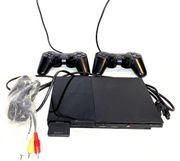 PlayStation 2 Slimline mit 2