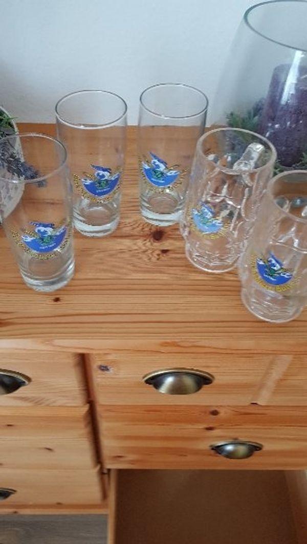 Biergläser Hecht Brauerei