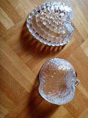 Glaskristallschälchen Erdbeere Apfelform