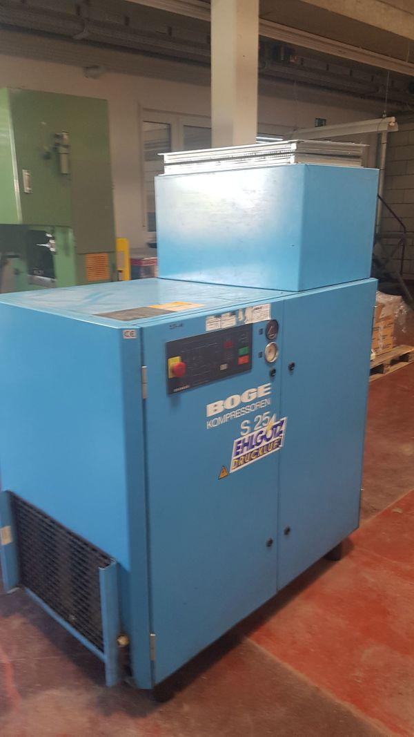 Schraubenkompressor Boge S25