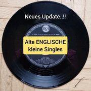 ENGLISCHE Vinyl Singles Schallplatten 1950-1980