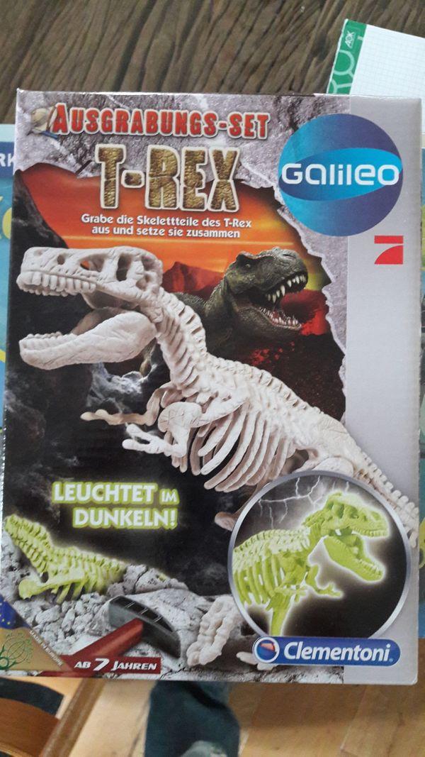 2 x T-Rex Ausgrabungssets