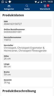 Christopeit Heimtrainer