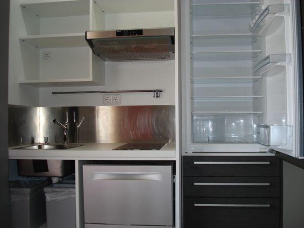Küche im Schrank