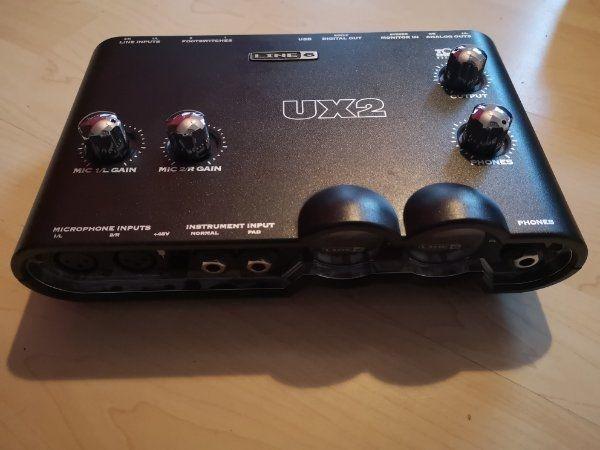 Audio Interface Line6 UX2