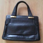 Klassische schwarze Damen-Handtasche NEU