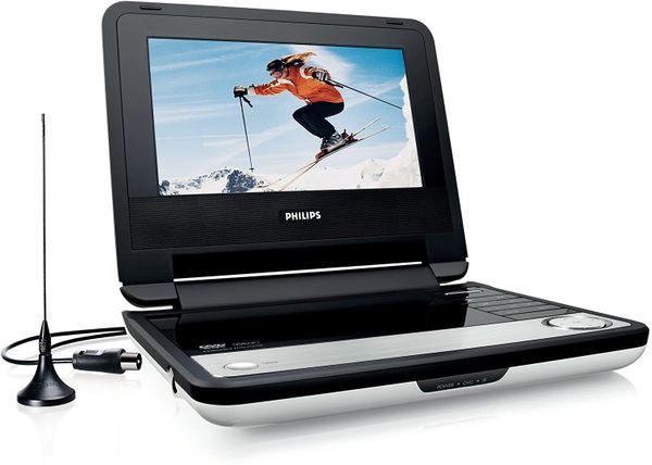 PHILIPS - Portabler DVD-Player und integrierten