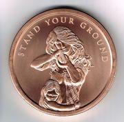 Stand your Ground - Patriotische Medaille