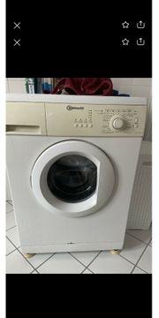 Defekte Waschmaschine