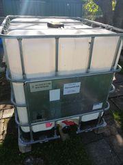 IBC-Fass Regenwassertank