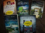 Buchpaket Krimis und ein Roman