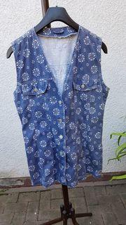 Neuwertiges hübsches sommerliches Jeanshemd von