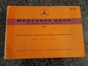 Ersatzteilekatalog Mercedes W111 250SE C-280SE