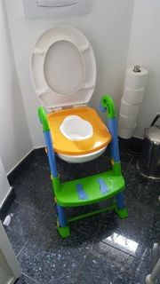 Kinder Toilettensitz mit Leiter