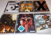 Sony Playstation 3 Spiele abzugeben