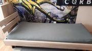 Bettgestell 90x200 Sonomaeiche mit Matratze