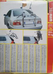 Fahrradträger für viele Modelle 3