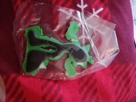 Sonstige Konsolen & Spiele - Crash Bandicoot Magnet Figur