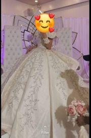 Wunderschöne Brautkleid