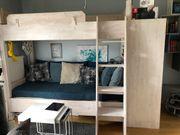 Etagenbett - Kinderbett - hochwertige Schreinerarbeit mit