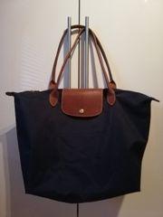 Longchamp Tasche Handtasche dunkelblau