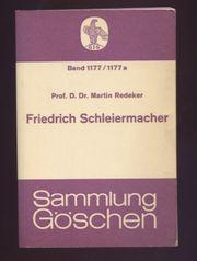 Friedrich Schleiermacher - Leben und Werk