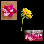 Babysöckchen für Mädchen in pink