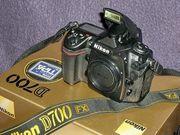 Nikon D700 Neuwertig