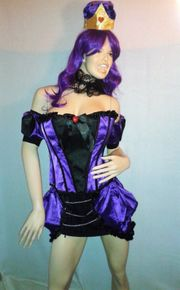 Burlesque Kostüm Set Cosplay Fasching