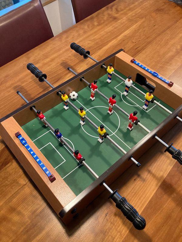 Fußballtisch klein