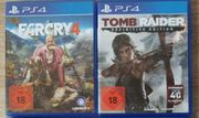 PS4 Spiele Tomb Raider Far