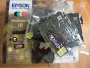Tintenpatronen Epson Multipack 18
