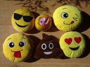 5 Emoji Dekokissen ca 30