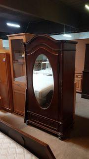 Kleiderschrank Antik mit Spiegel - HH16044