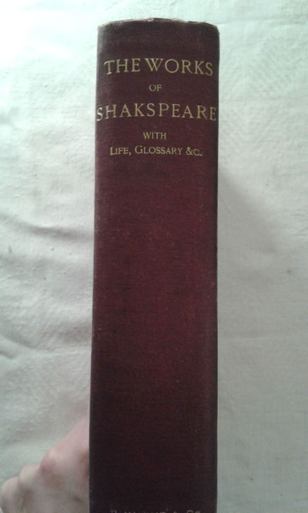 The Works of Shakeapeare With