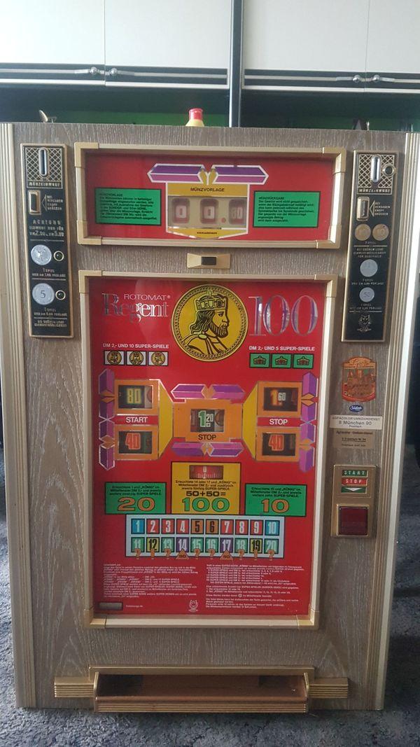 Spielautomat Regent für DM
