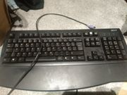 Tastatur acer mit PS 2